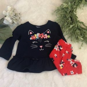 Carters 🍎NWT Two Piece Outfit